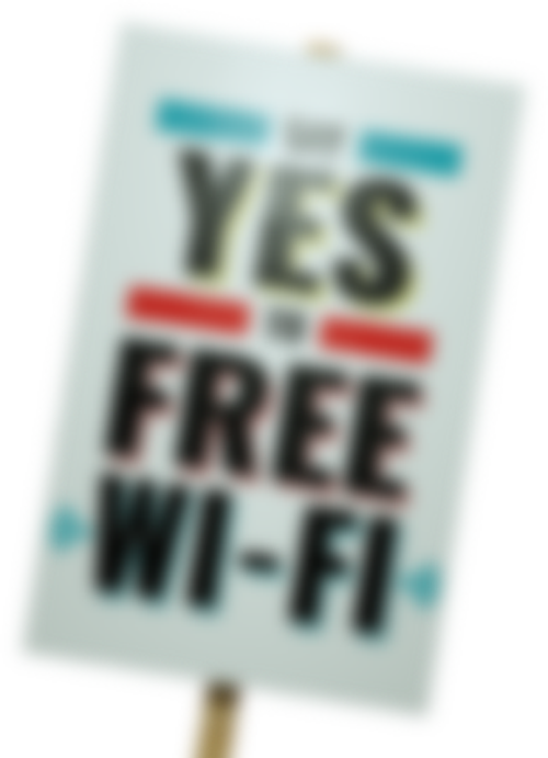 Say Yes to Free Wifi
