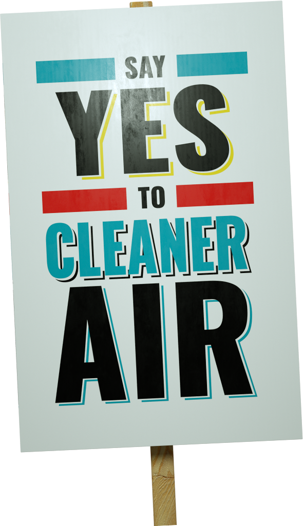 Say Yes to clean air